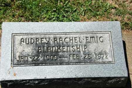 EMIG BLAKENSHIP, AUDREY RACHEL - Coshocton County, Ohio | AUDREY RACHEL EMIG BLAKENSHIP - Ohio Gravestone Photos