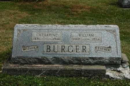 BURGER, WILLIAM - Coshocton County, Ohio   WILLIAM BURGER - Ohio Gravestone Photos