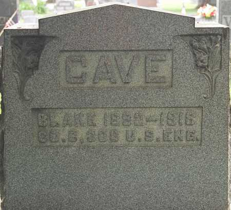 CAVE, BLAKE - Coshocton County, Ohio | BLAKE CAVE - Ohio Gravestone Photos