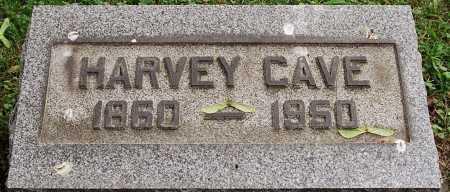 CAVE, HARVEY - Coshocton County, Ohio   HARVEY CAVE - Ohio Gravestone Photos