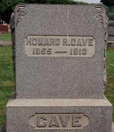 CAVE, HOWARD R. - Coshocton County, Ohio   HOWARD R. CAVE - Ohio Gravestone Photos