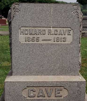 CAVE, HOWARD R. - Coshocton County, Ohio | HOWARD R. CAVE - Ohio Gravestone Photos