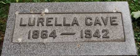 TAYLOR CAVE, LURELLA - Coshocton County, Ohio | LURELLA TAYLOR CAVE - Ohio Gravestone Photos