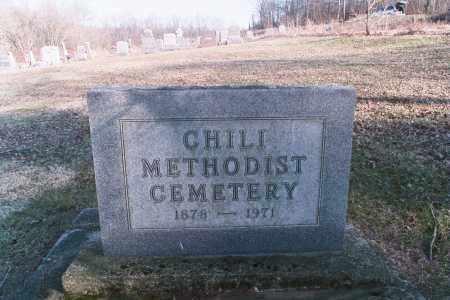 CHILI, CEMETERY - Coshocton County, Ohio | CEMETERY CHILI - Ohio Gravestone Photos