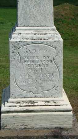 CONRAD, MARY - Coshocton County, Ohio   MARY CONRAD - Ohio Gravestone Photos