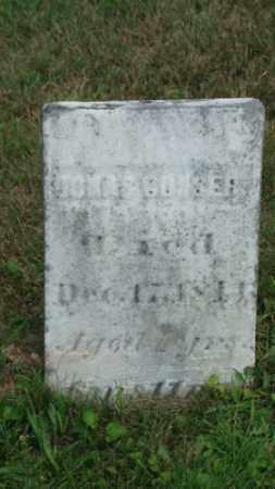 CONSERT, JONAS - Coshocton County, Ohio   JONAS CONSERT - Ohio Gravestone Photos