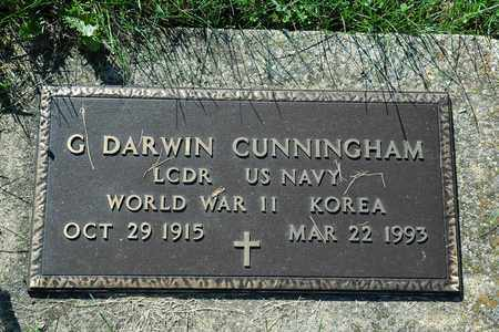 CUNNINGHAM, G. DARWIN - Coshocton County, Ohio   G. DARWIN CUNNINGHAM - Ohio Gravestone Photos
