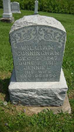 CUNNINGHAM, WILLIAM - Coshocton County, Ohio | WILLIAM CUNNINGHAM - Ohio Gravestone Photos