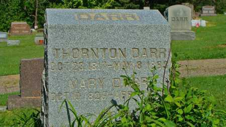 DARR, MARY - Coshocton County, Ohio | MARY DARR - Ohio Gravestone Photos