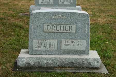 DREHER, ELIZA J. - Coshocton County, Ohio   ELIZA J. DREHER - Ohio Gravestone Photos