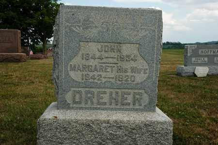 DREHER, MARGARET - Coshocton County, Ohio | MARGARET DREHER - Ohio Gravestone Photos