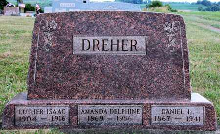 DREHER, LUTHER ISAAC - Coshocton County, Ohio | LUTHER ISAAC DREHER - Ohio Gravestone Photos