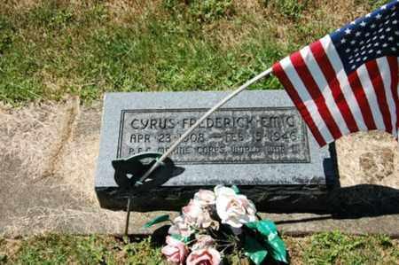 EMIG, CYRUS FREDERICK - Coshocton County, Ohio   CYRUS FREDERICK EMIG - Ohio Gravestone Photos