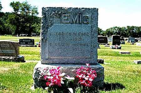 EMIG, GERTRUDE - Coshocton County, Ohio | GERTRUDE EMIG - Ohio Gravestone Photos