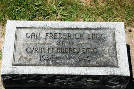 EMIG, GAIL FREDERICK - Coshocton County, Ohio   GAIL FREDERICK EMIG - Ohio Gravestone Photos