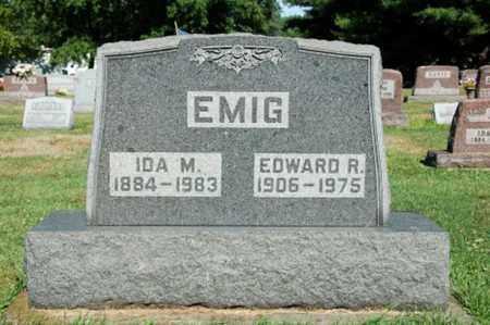 EMIG, IDA M. - Coshocton County, Ohio | IDA M. EMIG - Ohio Gravestone Photos