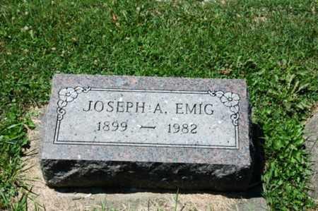 EMIG, JOSEPH A. - Coshocton County, Ohio   JOSEPH A. EMIG - Ohio Gravestone Photos