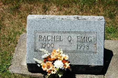 EMIG, RACHEL OLETA - Coshocton County, Ohio   RACHEL OLETA EMIG - Ohio Gravestone Photos