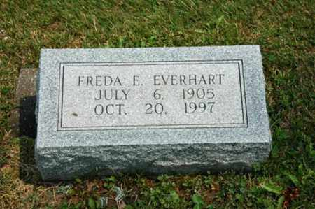 EVERHART, FREDA E. - Coshocton County, Ohio | FREDA E. EVERHART - Ohio Gravestone Photos