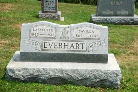 EVERHART, LAFAYETTE - Coshocton County, Ohio   LAFAYETTE EVERHART - Ohio Gravestone Photos