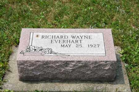EVERHART, RICHARD WAYNE - Coshocton County, Ohio | RICHARD WAYNE EVERHART - Ohio Gravestone Photos