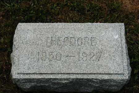 EVERHART, THEODORE - Coshocton County, Ohio | THEODORE EVERHART - Ohio Gravestone Photos