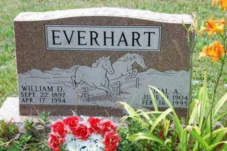 EVERHART, WILLIAM D. - Coshocton County, Ohio   WILLIAM D. EVERHART - Ohio Gravestone Photos