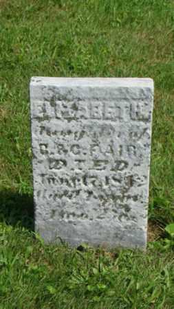 FAIR, ELIZABETH - Coshocton County, Ohio | ELIZABETH FAIR - Ohio Gravestone Photos