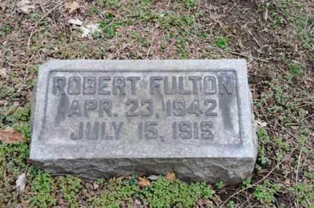 FULTON, ROBERT - Coshocton County, Ohio | ROBERT FULTON - Ohio Gravestone Photos