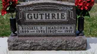 GUTHRIE, MADONNA B. - Coshocton County, Ohio | MADONNA B. GUTHRIE - Ohio Gravestone Photos