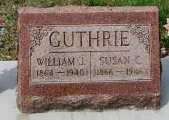 GUTHRIE, WILLIAM J. - Coshocton County, Ohio   WILLIAM J. GUTHRIE - Ohio Gravestone Photos