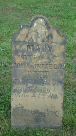 INFIELD, MARY - Coshocton County, Ohio | MARY INFIELD - Ohio Gravestone Photos