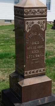 KEEHN, FREDERIC - Coshocton County, Ohio   FREDERIC KEEHN - Ohio Gravestone Photos