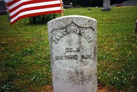 KISTE, JAMES HARRISON - Coshocton County, Ohio | JAMES HARRISON KISTE - Ohio Gravestone Photos