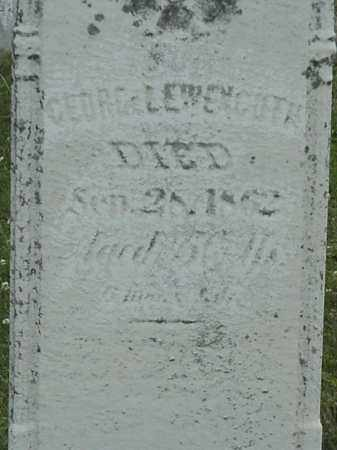 LEWENGUTH, GEORG - Coshocton County, Ohio   GEORG LEWENGUTH - Ohio Gravestone Photos