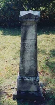 LEWIS, JOB - Coshocton County, Ohio | JOB LEWIS - Ohio Gravestone Photos