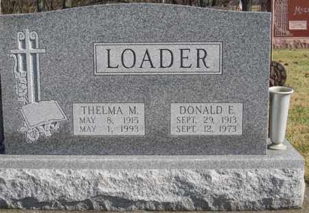 MULLETT LOADER, THELMA MAE - Coshocton County, Ohio | THELMA MAE MULLETT LOADER - Ohio Gravestone Photos