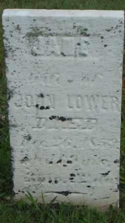 LOWER, JANE - Coshocton County, Ohio | JANE LOWER - Ohio Gravestone Photos