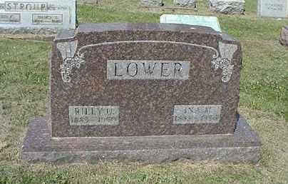 LOWER, RILEY O. - Coshocton County, Ohio | RILEY O. LOWER - Ohio Gravestone Photos