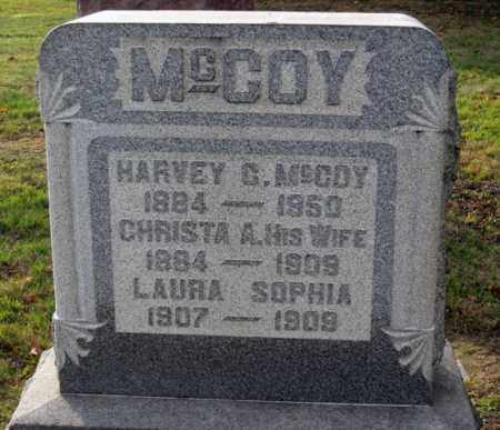 MCCOY, CHRISTA A. - Coshocton County, Ohio | CHRISTA A. MCCOY - Ohio Gravestone Photos