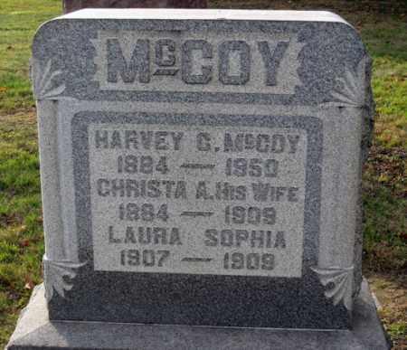 MCCOY, SOPHIA - Coshocton County, Ohio | SOPHIA MCCOY - Ohio Gravestone Photos