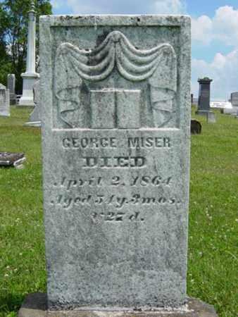 MISER, GEORGE - Coshocton County, Ohio | GEORGE MISER - Ohio Gravestone Photos