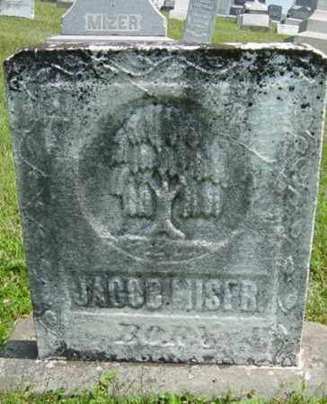 MISER, JACOB - Coshocton County, Ohio | JACOB MISER - Ohio Gravestone Photos