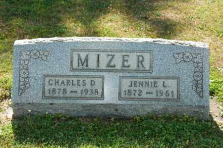 MIZER, JENNIE - Coshocton County, Ohio | JENNIE MIZER - Ohio Gravestone Photos