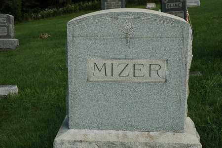 MIZER, NANCY JOSEPHINE - Coshocton County, Ohio | NANCY JOSEPHINE MIZER - Ohio Gravestone Photos