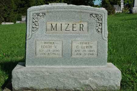 MIZER, C. LEROY - Coshocton County, Ohio | C. LEROY MIZER - Ohio Gravestone Photos