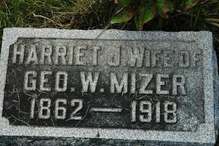 GARBER MIZER, HARRIET J. - Coshocton County, Ohio | HARRIET J. GARBER MIZER - Ohio Gravestone Photos