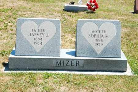 MIZER, HARVEY J. - Coshocton County, Ohio | HARVEY J. MIZER - Ohio Gravestone Photos