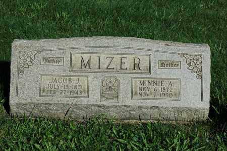 MIZER, JACOB J. - Coshocton County, Ohio | JACOB J. MIZER - Ohio Gravestone Photos