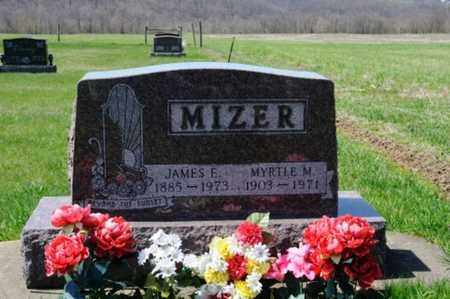 MIZER, JAMES EDWARD - Coshocton County, Ohio | JAMES EDWARD MIZER - Ohio Gravestone Photos